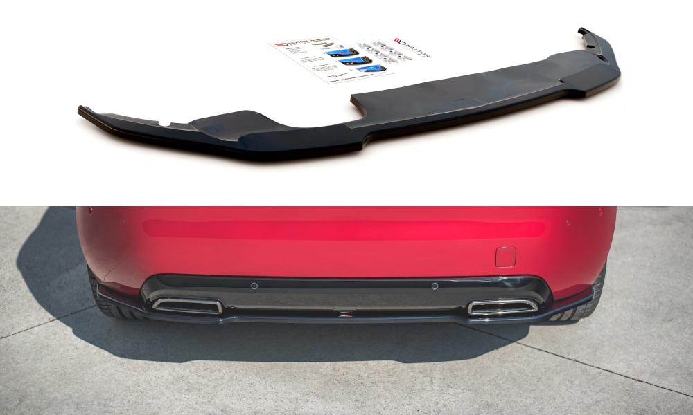 SPLITTER TYLNY ŚRODKOWY PEUGEOT 308 GT MK2 FACELIFT - GRUBYGARAGE - Sklep Tuningowy